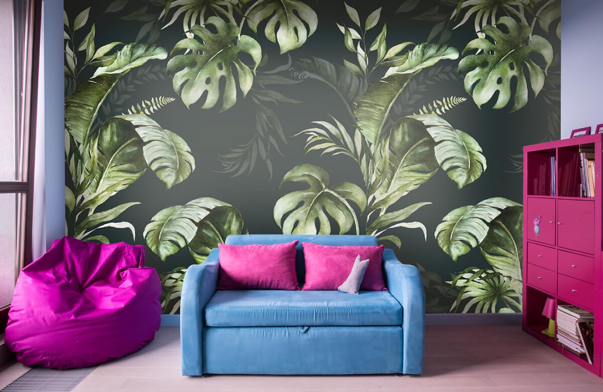 pattern Groene bladeren patroon 11