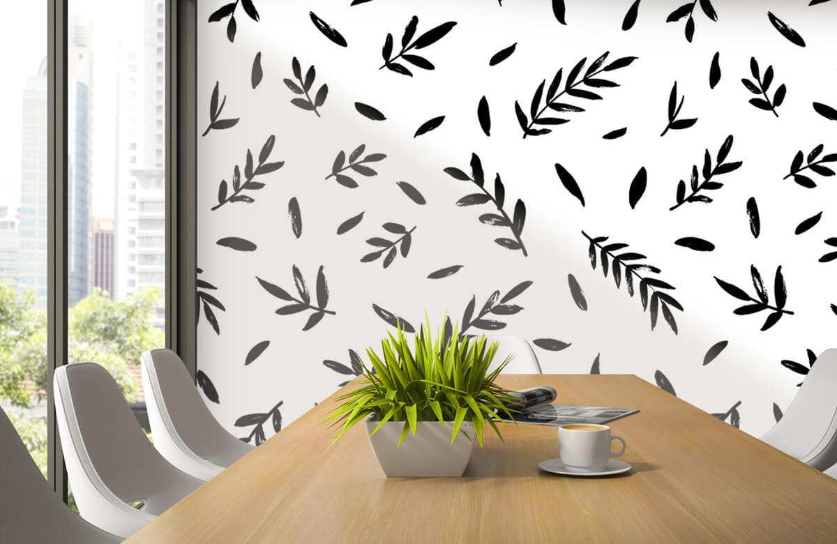 pattern Zwarte takjes 4
