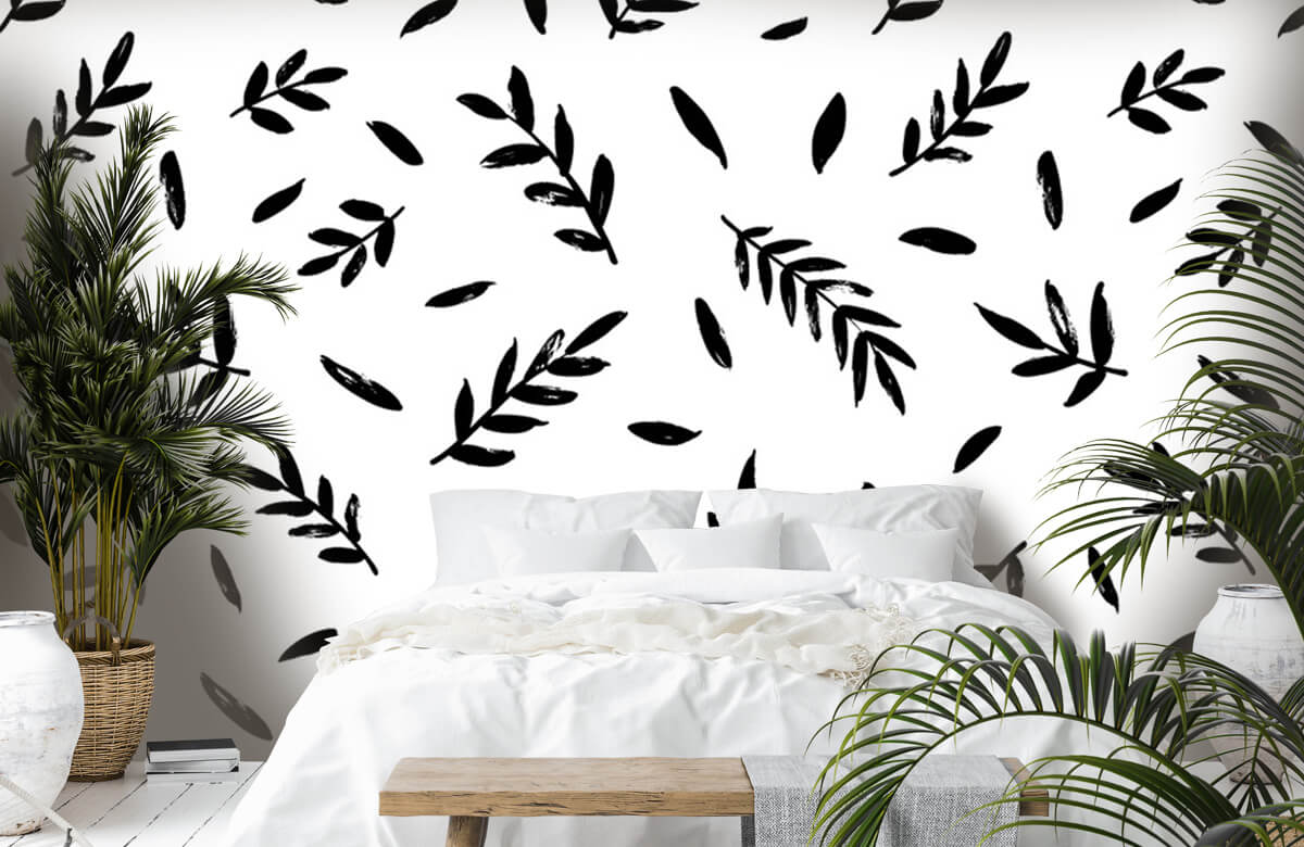 pattern Zwarte takjes 1