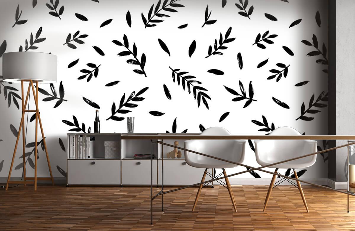 pattern Zwarte takjes 5