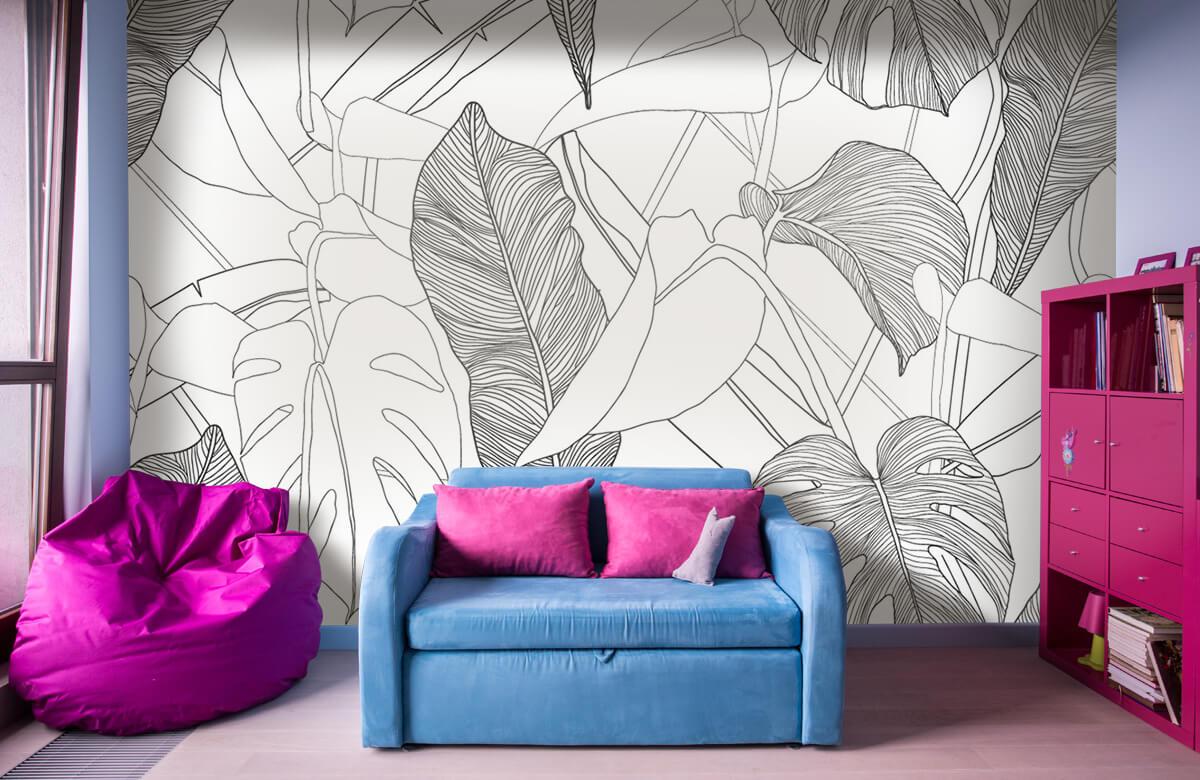 pattern Exotisch patroon 10