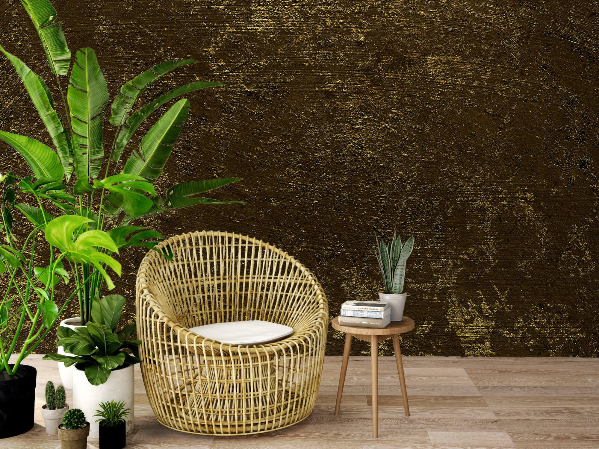 Texturen Gouden oplichtende structuur 9