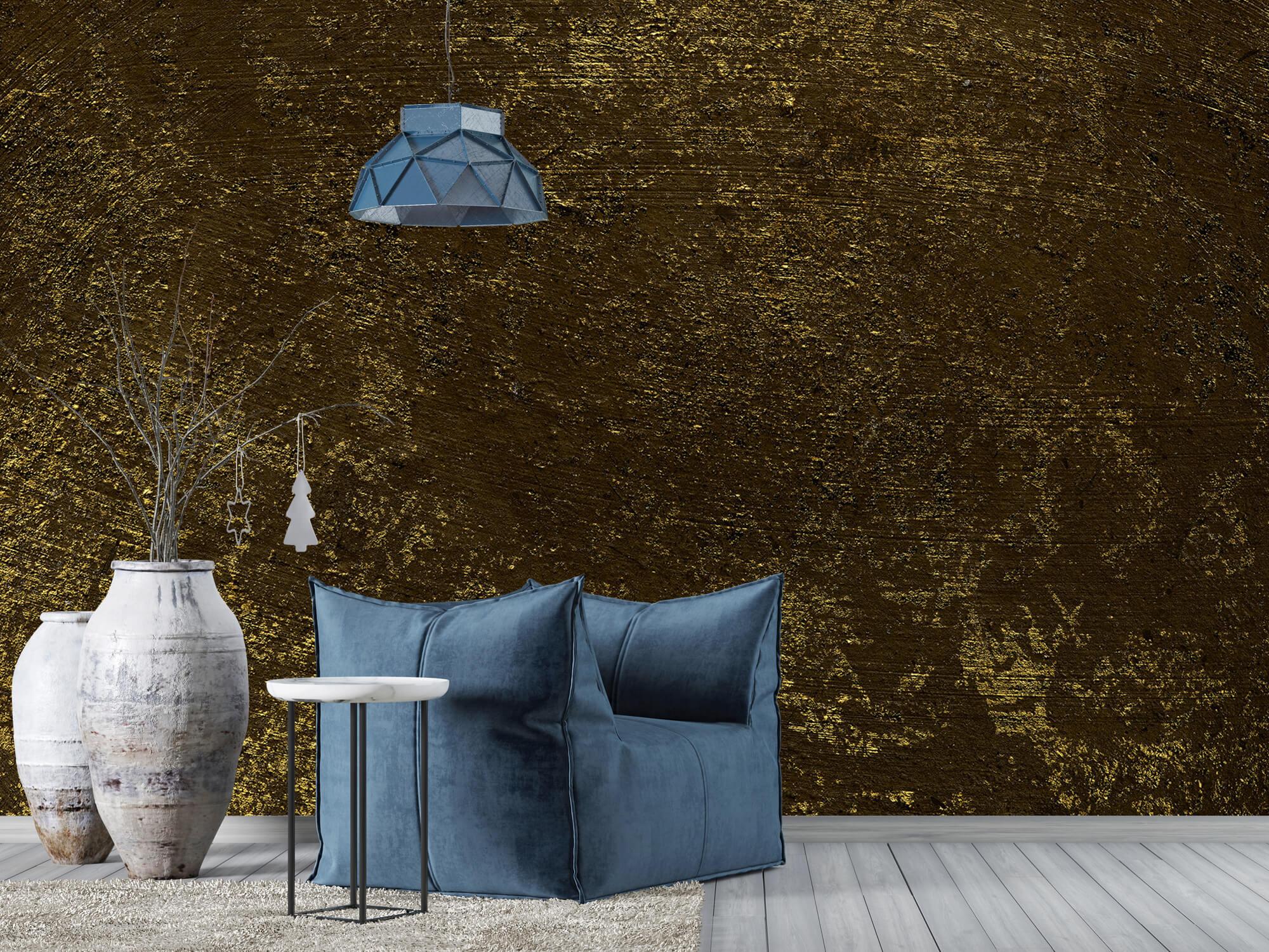 Texturen Gouden oplichtende structuur 2