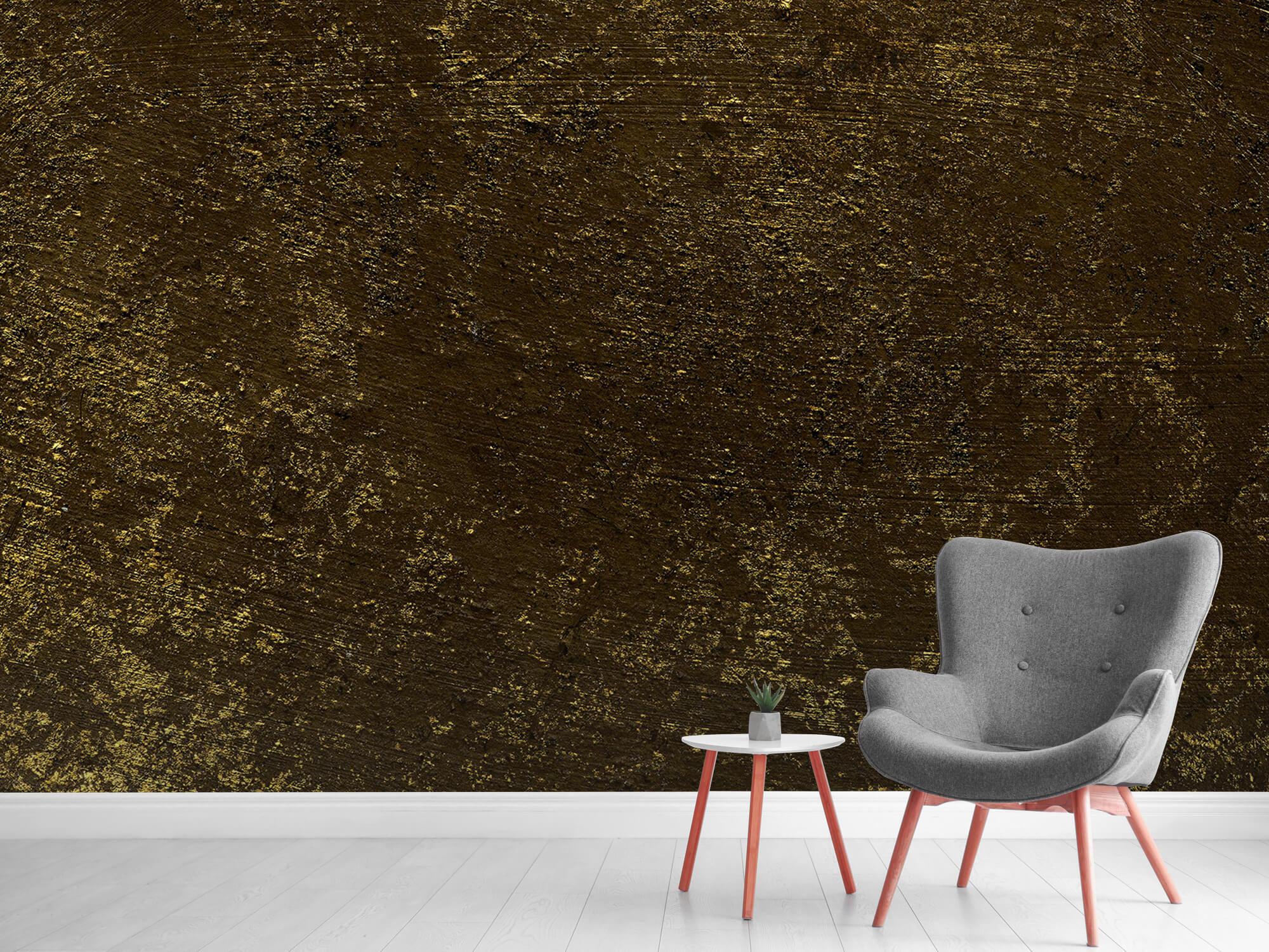 Texturen Gouden oplichtende structuur 6