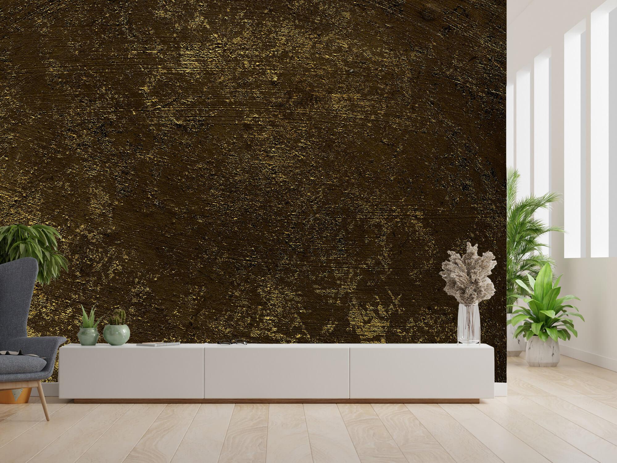 Texturen Gouden oplichtende structuur 5