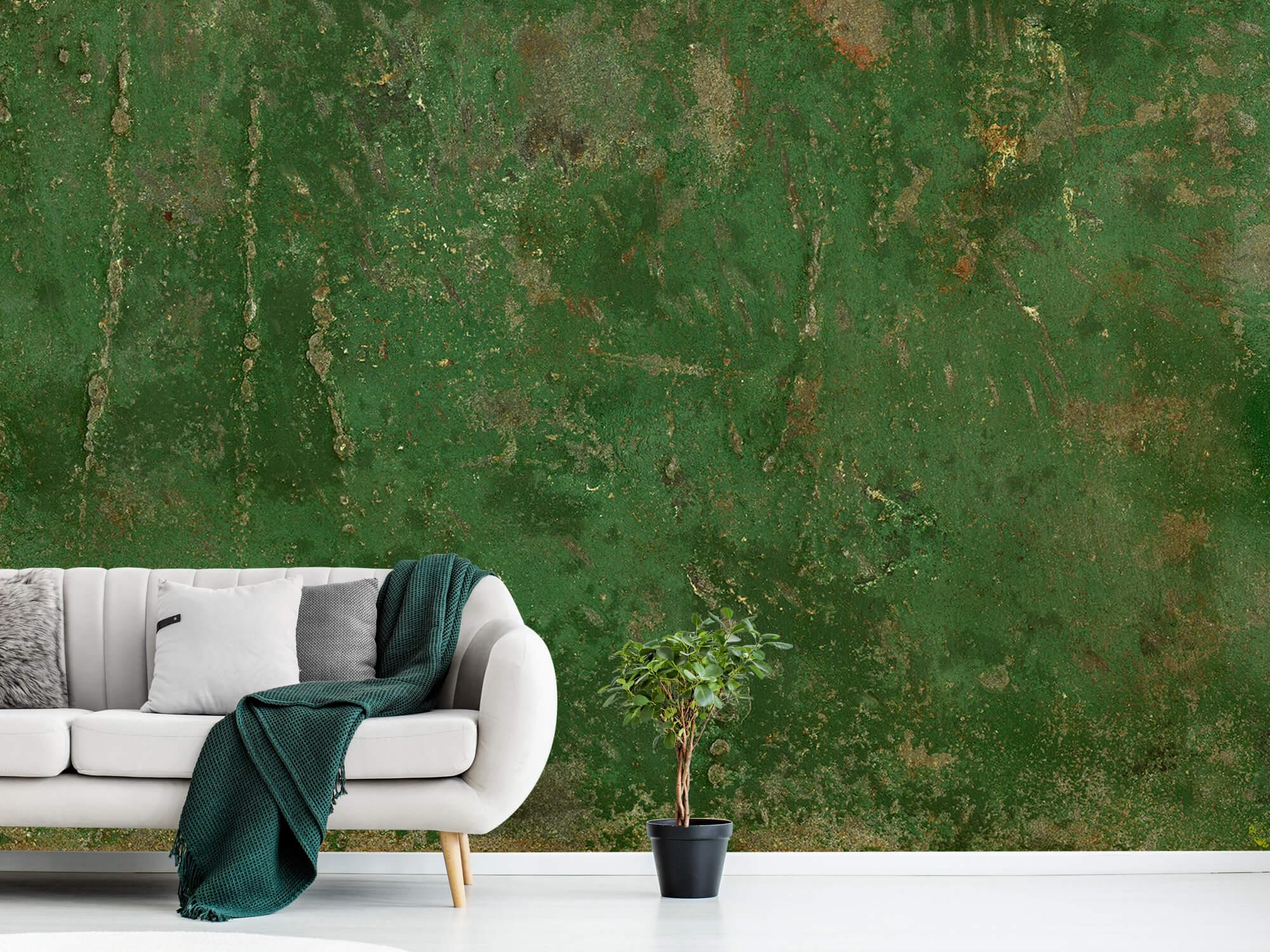 Staal Groen geoxideerd metaal 3