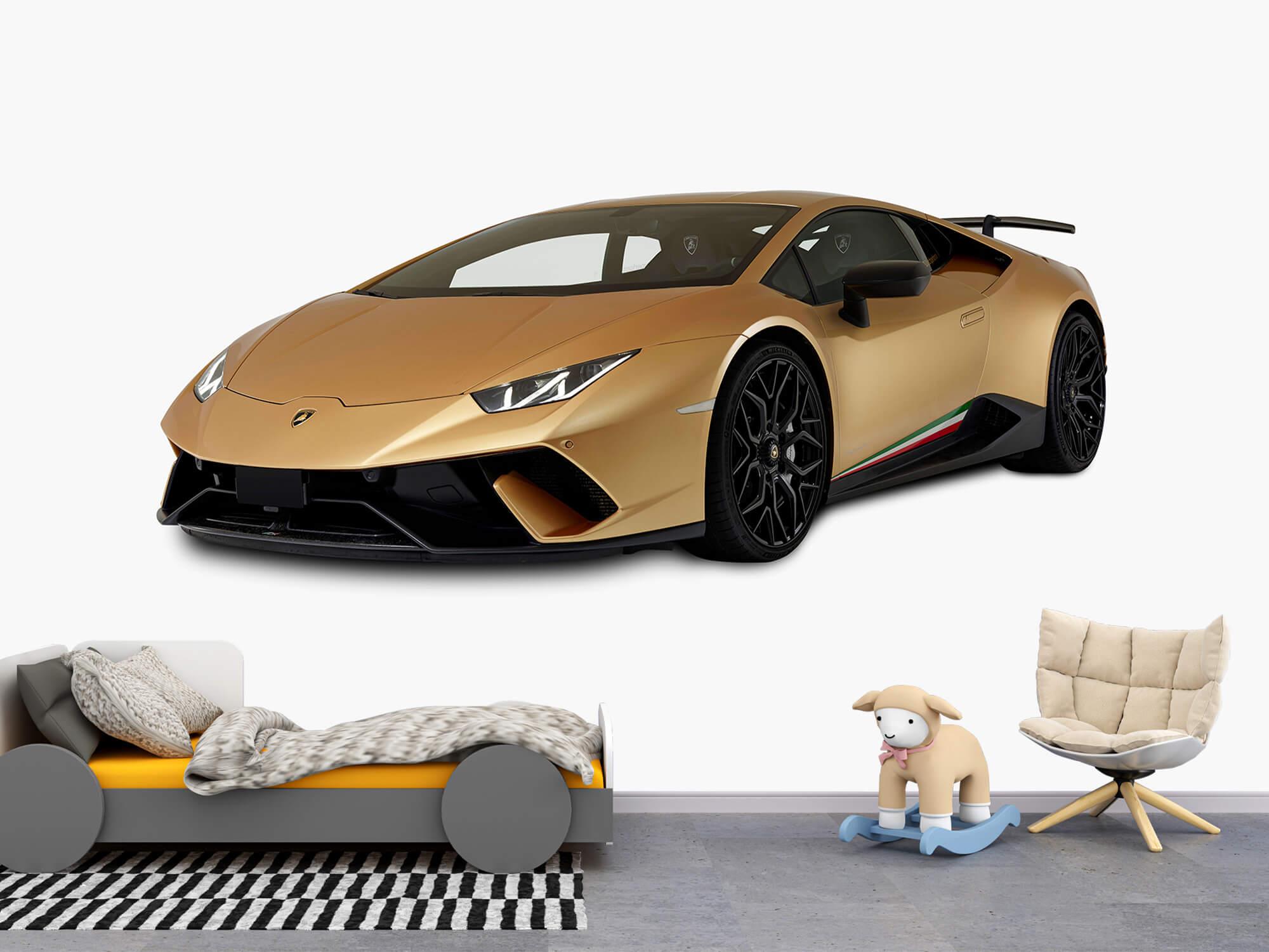 Wallpaper Lamborghini Huracán - Rechter voorkant wit 5