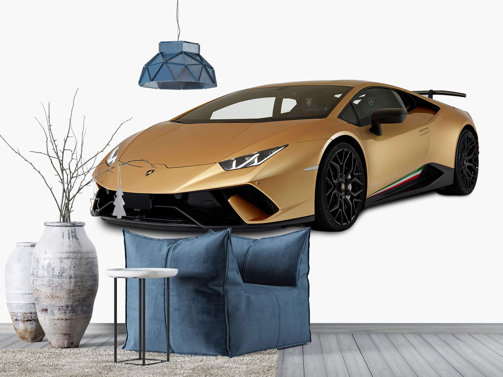 Wallpaper Lamborghini Huracán - Rechter voorkant wit 6
