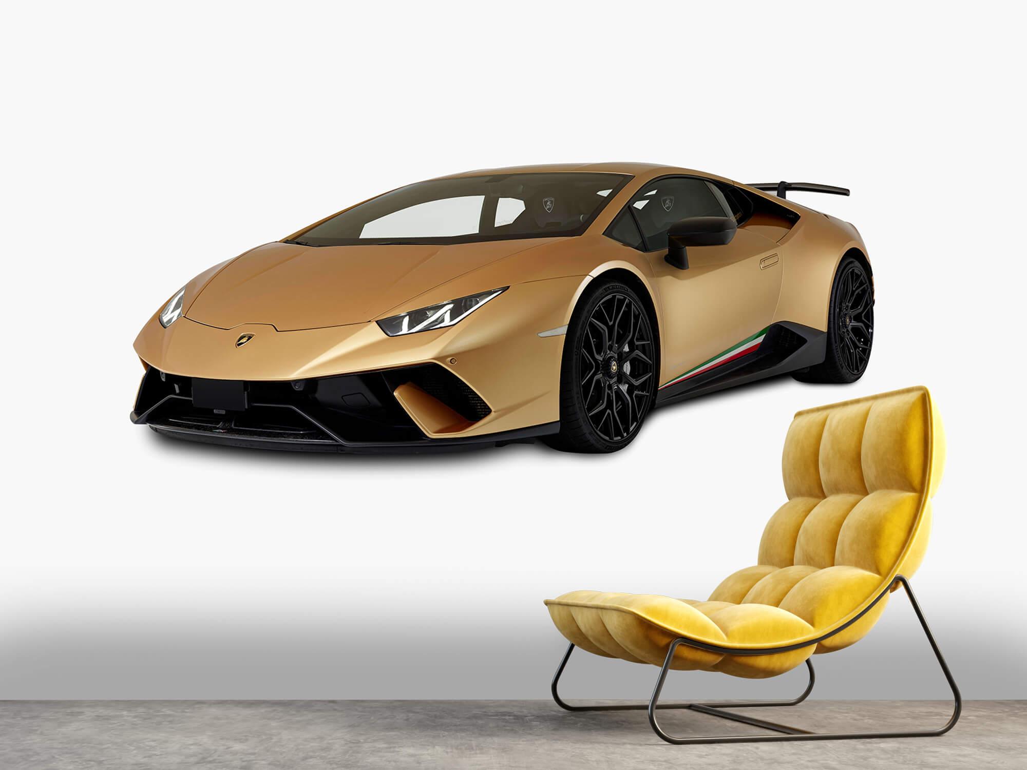 Wallpaper Lamborghini Huracán - Rechter voorkant wit 7