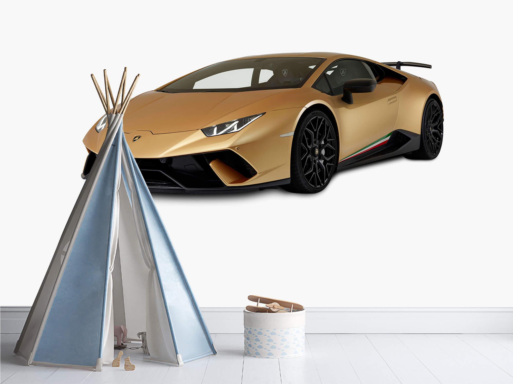 Wallpaper Lamborghini Huracán - Rechter voorkant wit 10
