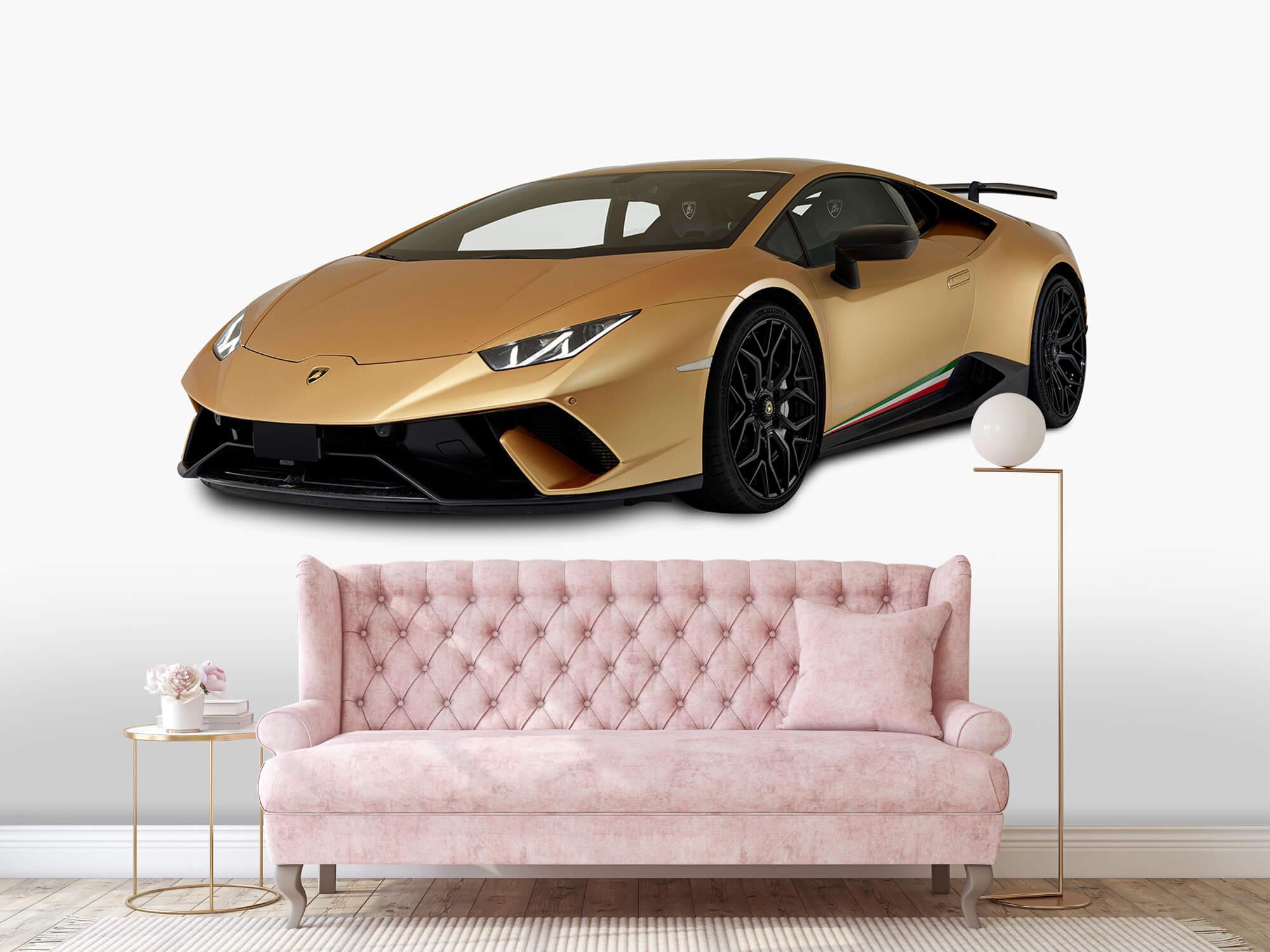 Wallpaper Lamborghini Huracán - Rechter voorkant wit 12
