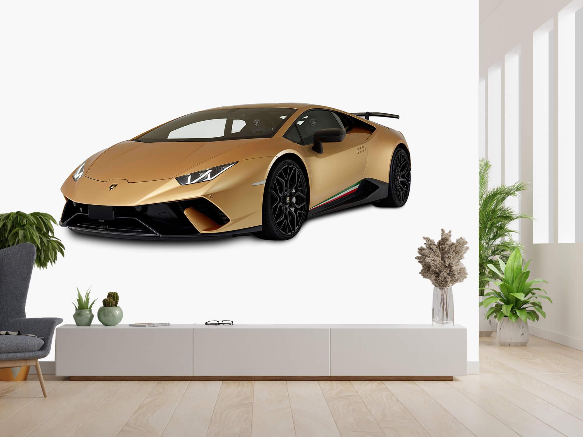 Wallpaper Lamborghini Huracán - Rechter voorkant wit 14