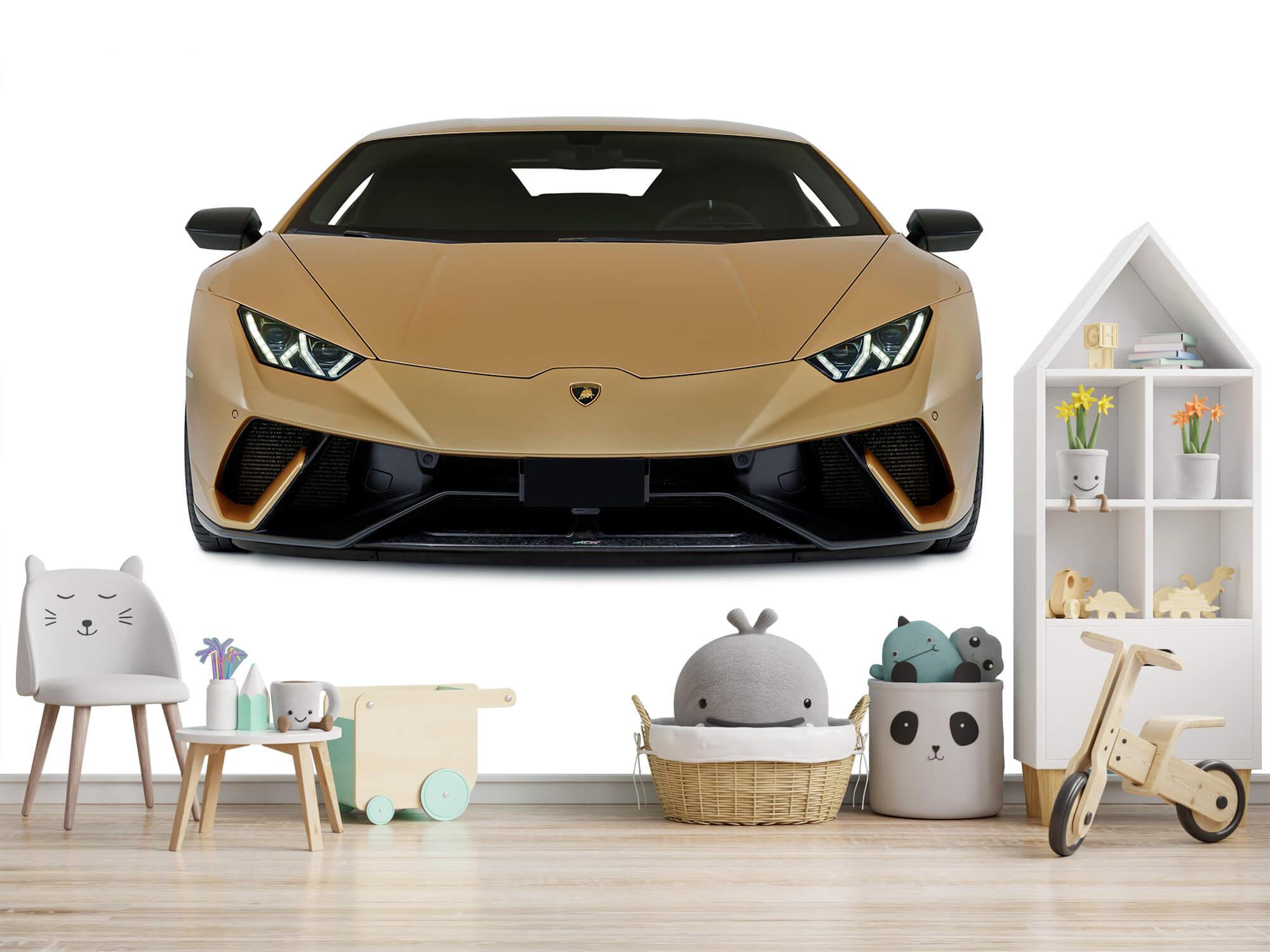 Wallpaper Lamborghini Huracán - Voorkant, wit 2