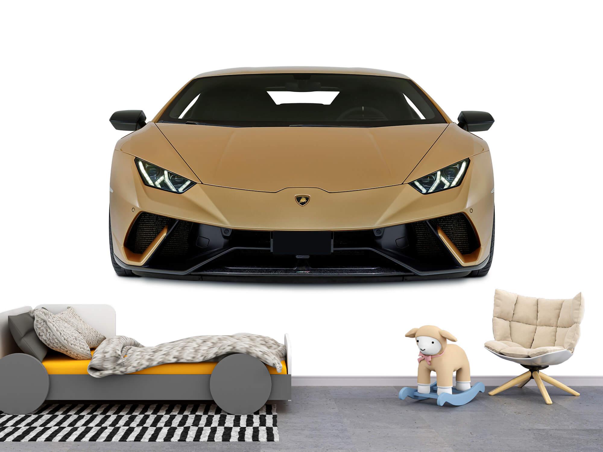 Wallpaper Lamborghini Huracán - Voorkant, wit 4