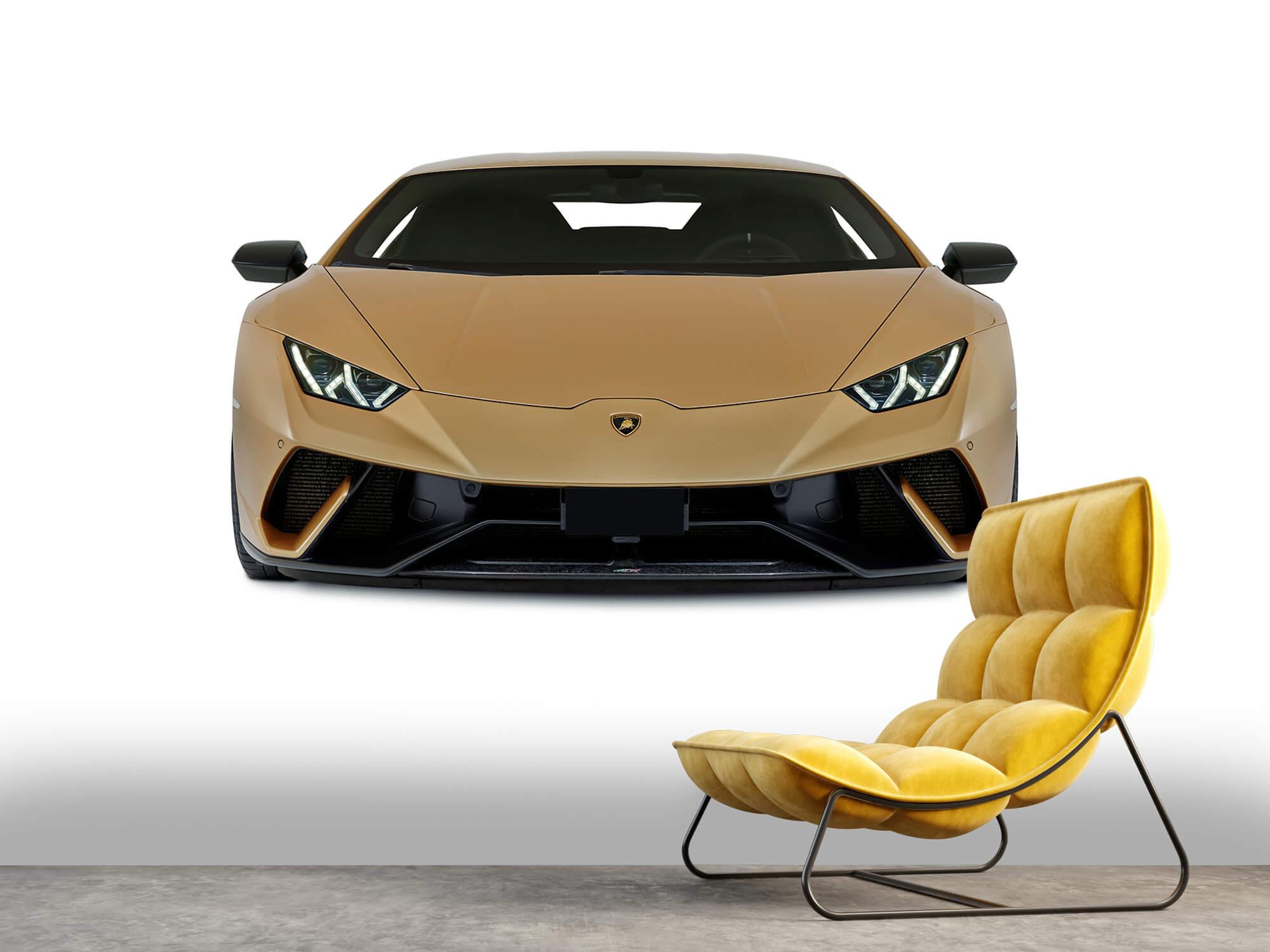 Wallpaper Lamborghini Huracán - Voorkant, wit 6