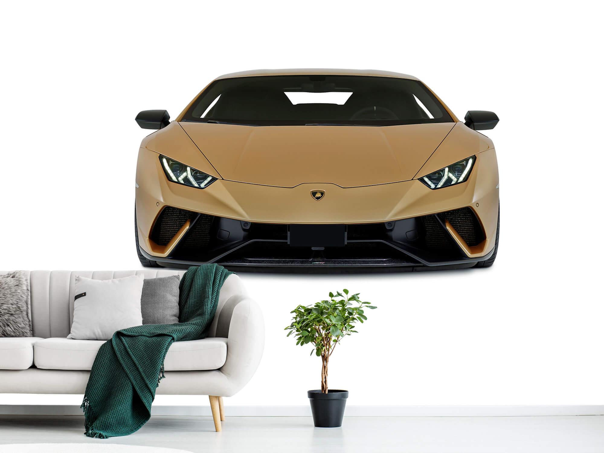 Wallpaper Lamborghini Huracán - Voorkant, wit 10
