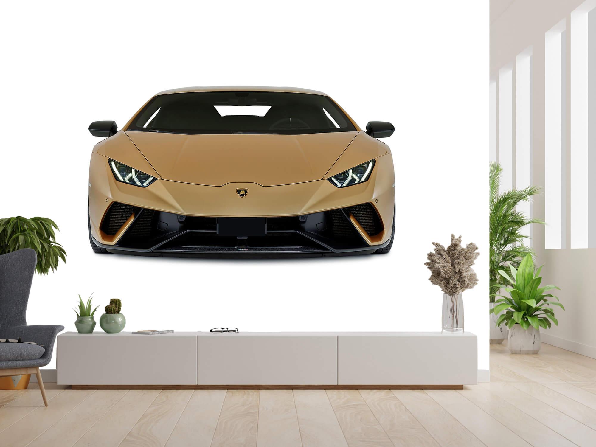 Wallpaper Lamborghini Huracán - Voorkant, wit 13