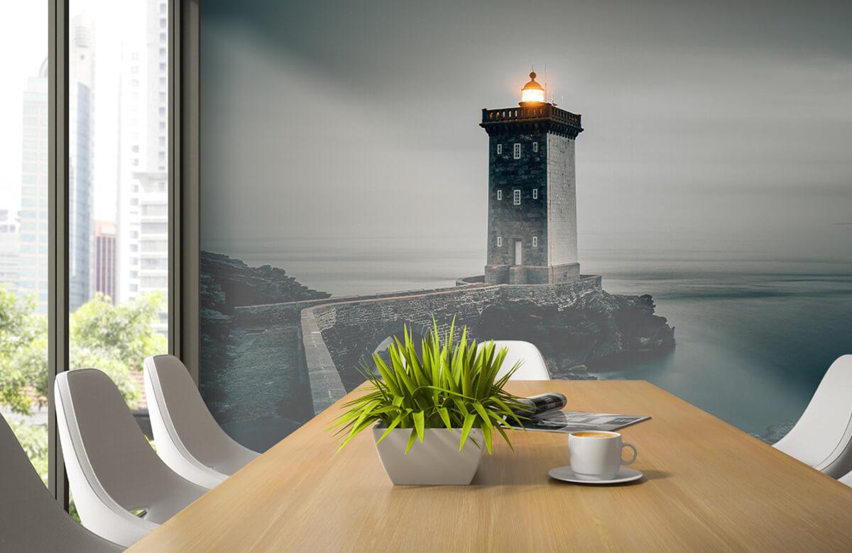 wallpaper Lichtgevende vuurtoren 3