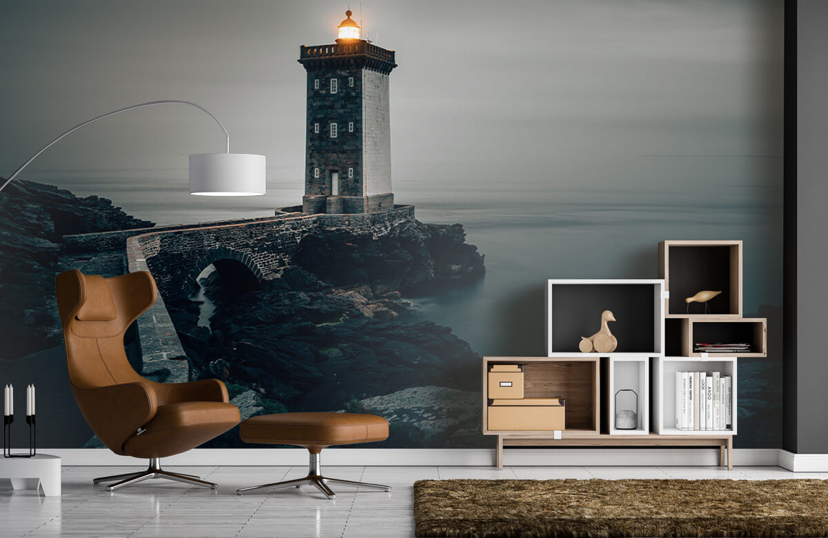 wallpaper Lichtgevende vuurtoren 2
