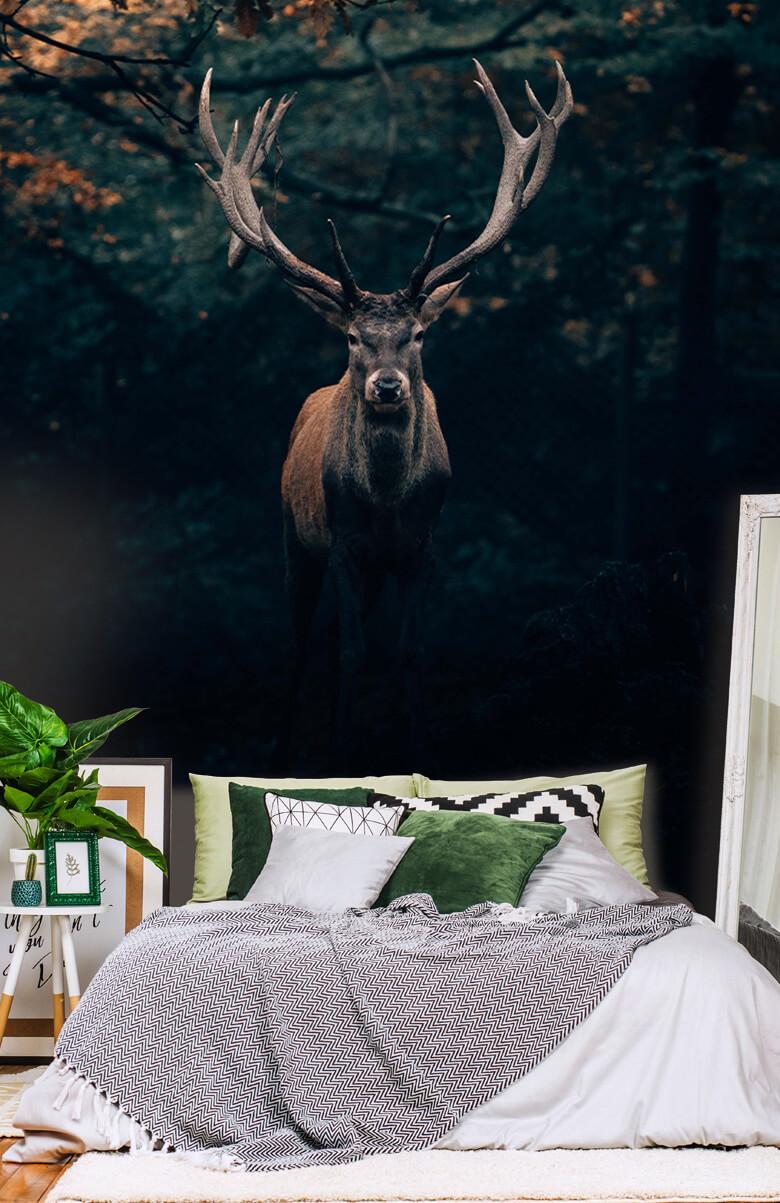 wallpaper Damhert in het bos 8