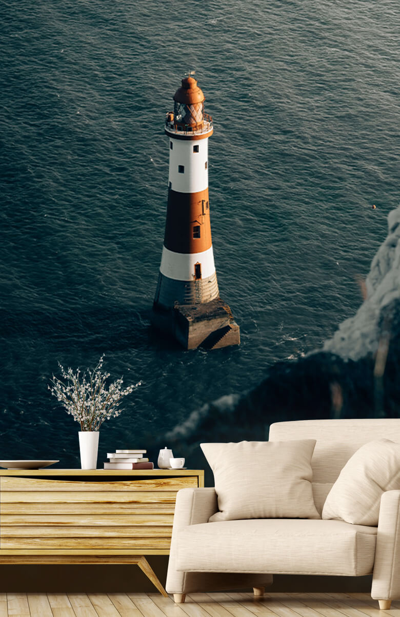 wallpaper Vuurtoren aan de Engelse kust 1