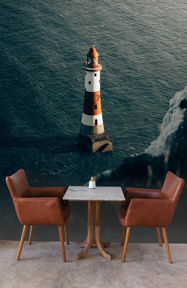 wallpaper Vuurtoren aan de Engelse kust 4