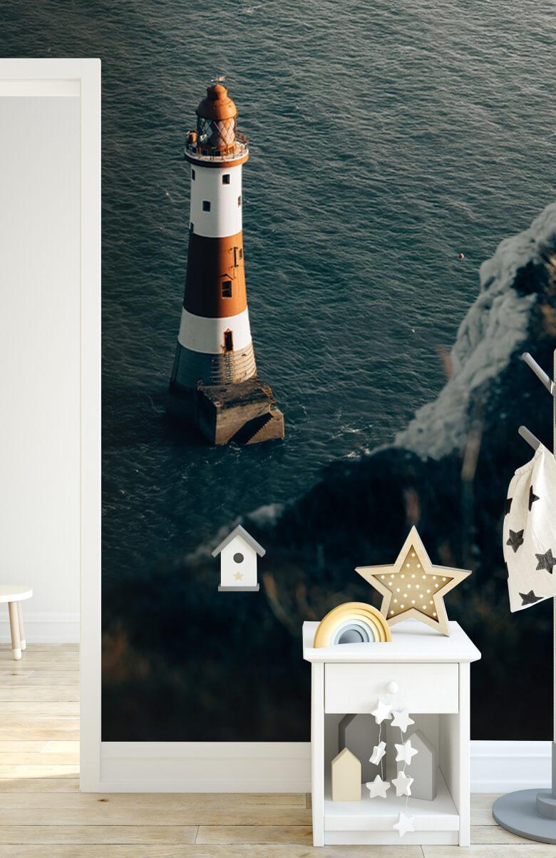 wallpaper Vuurtoren aan de Engelse kust 8