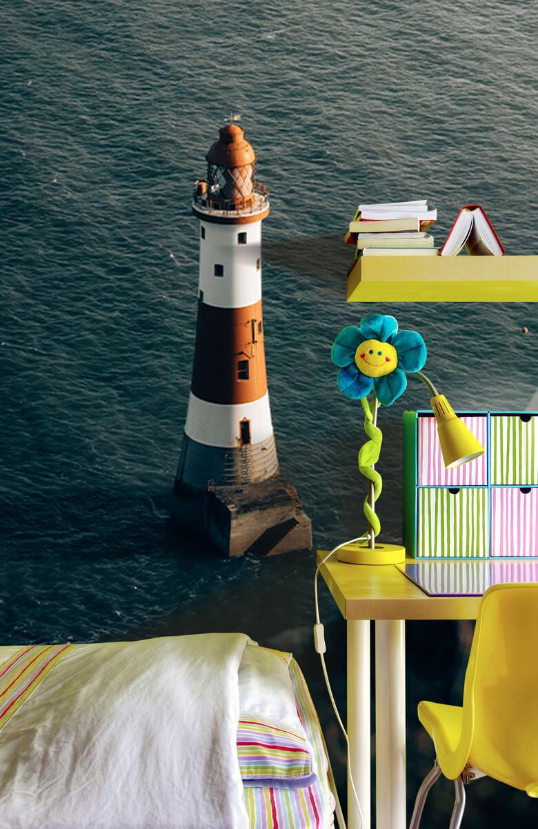 wallpaper Vuurtoren aan de Engelse kust 10