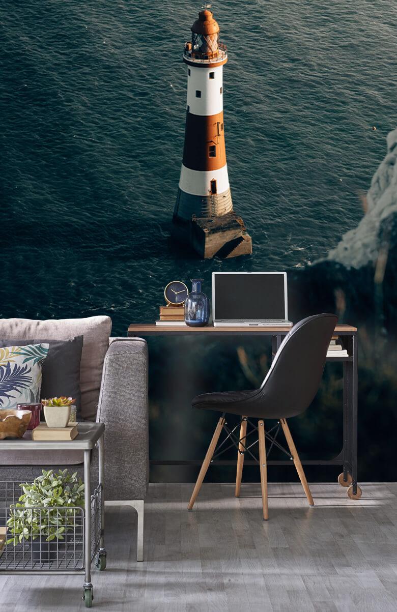 wallpaper Vuurtoren aan de Engelse kust 11