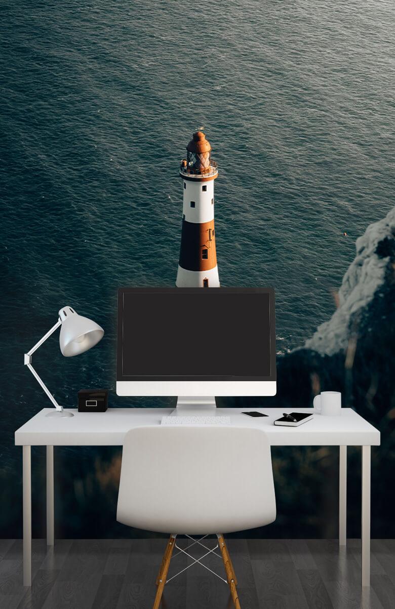 wallpaper Vuurtoren aan de Engelse kust 12
