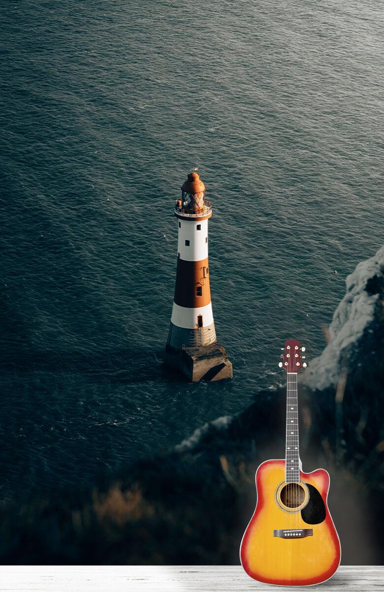 wallpaper Vuurtoren aan de Engelse kust 7