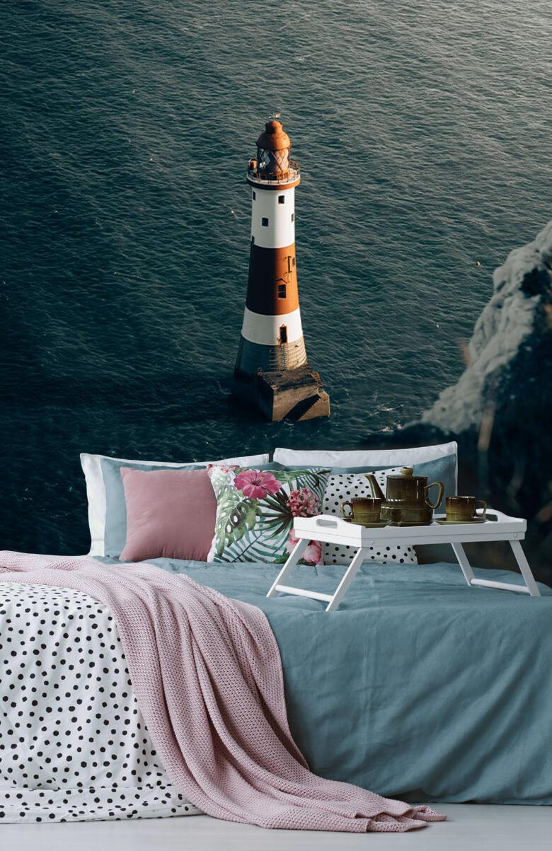 wallpaper Vuurtoren aan de Engelse kust 5