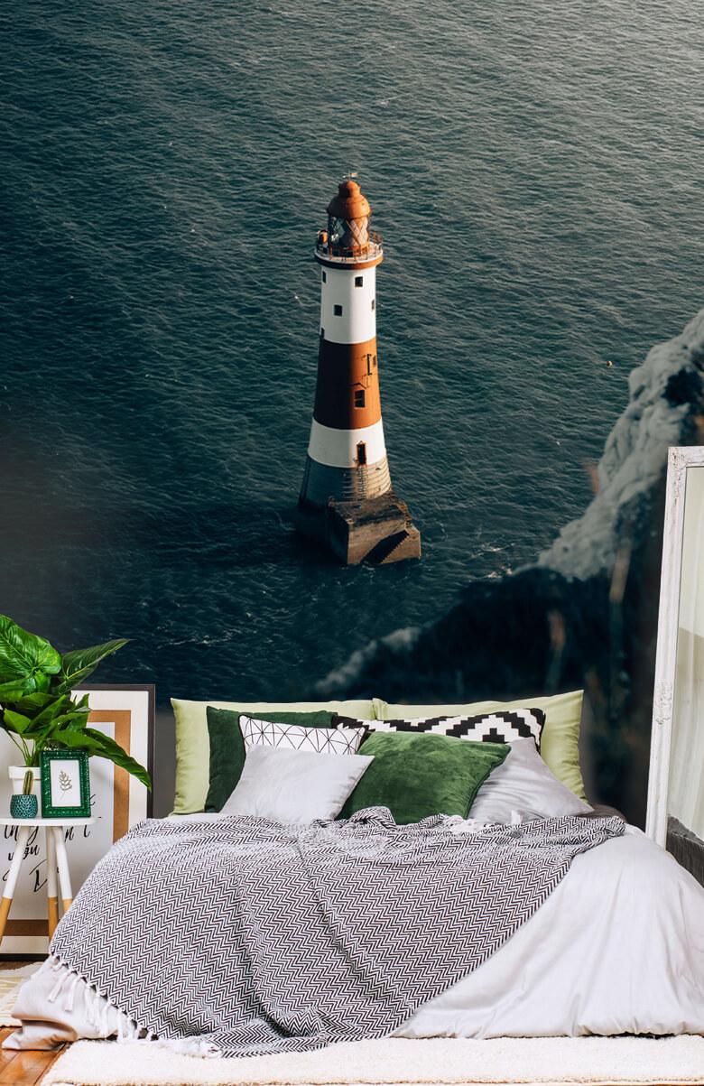 wallpaper Vuurtoren aan de Engelse kust 9