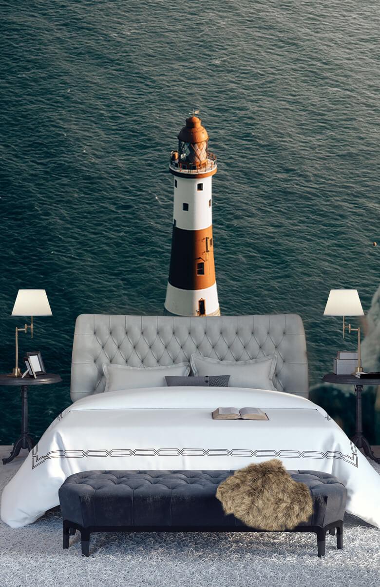 wallpaper Vuurtoren aan de Engelse kust 13