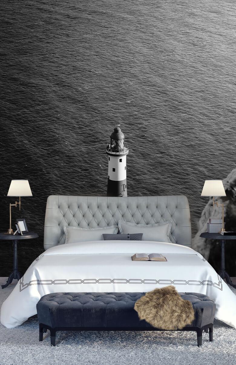 wallpaper Vuurtoren aan de Engelse kust 15