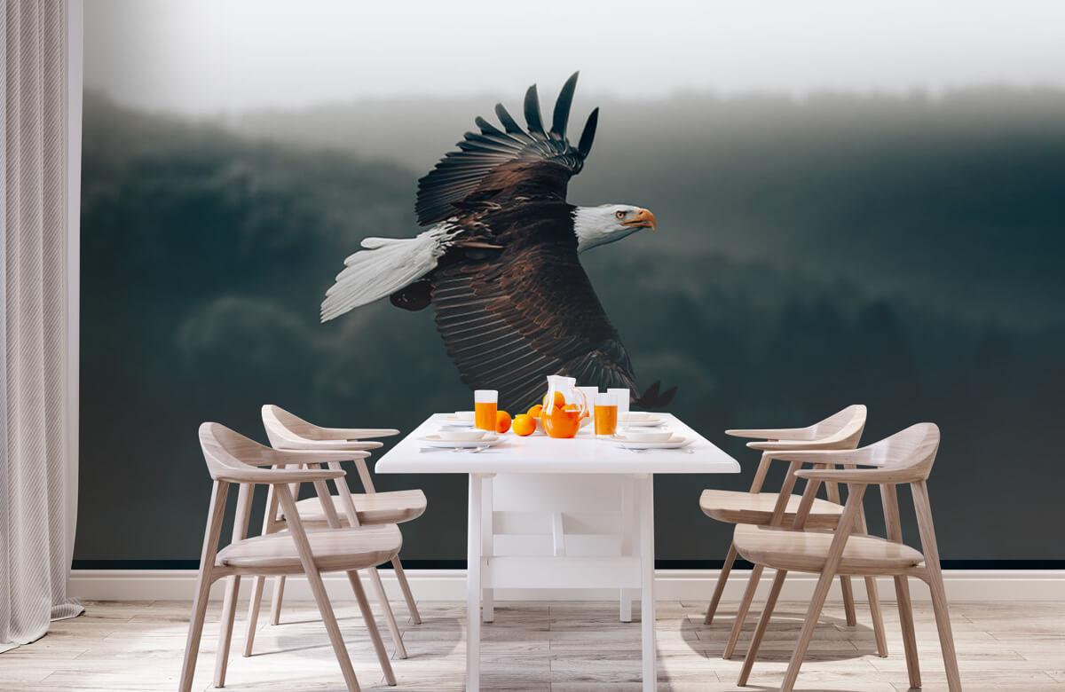 wallpaper Vliegende adelaar 3