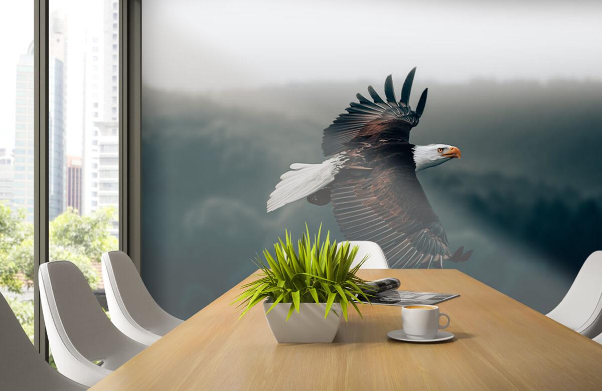wallpaper Vliegende adelaar 6