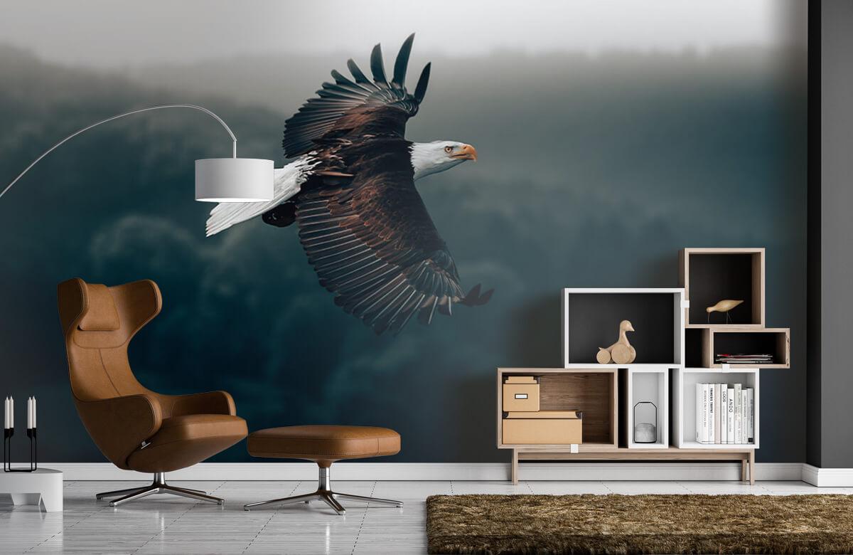 wallpaper Vliegende adelaar 7