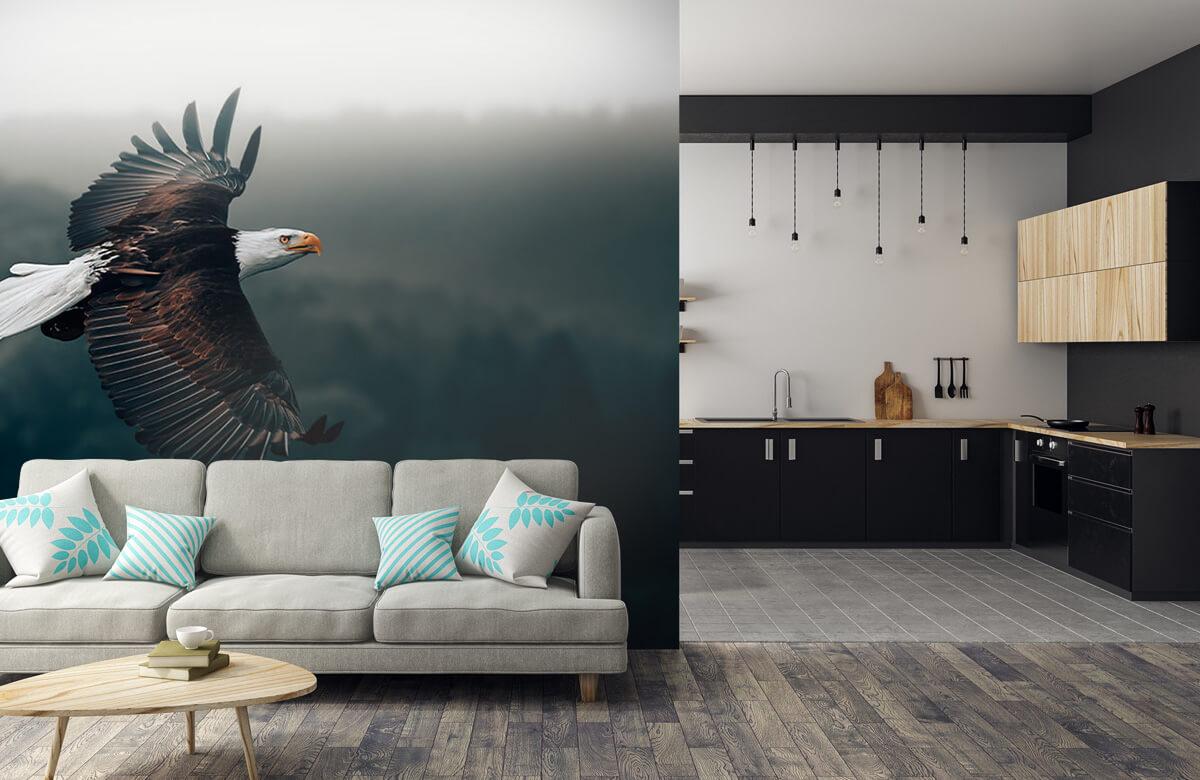 wallpaper Vliegende adelaar 8