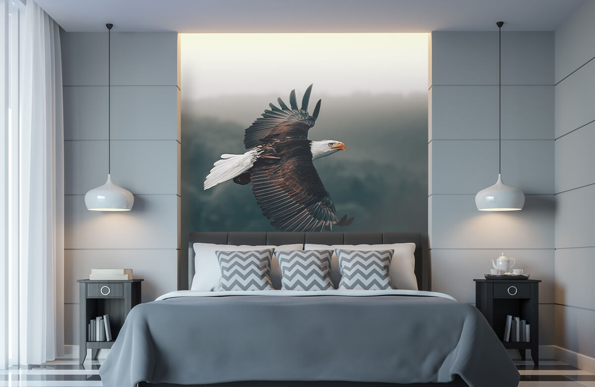 wallpaper Vliegende adelaar 5