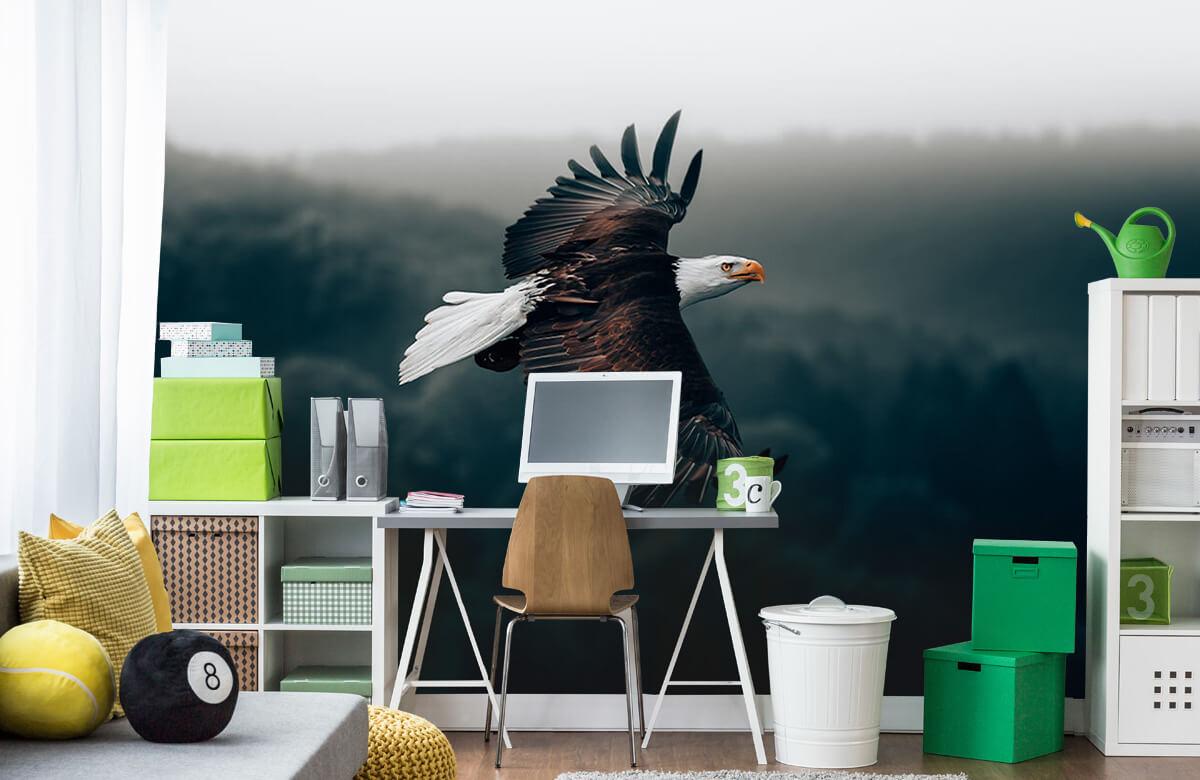 wallpaper Vliegende adelaar 10