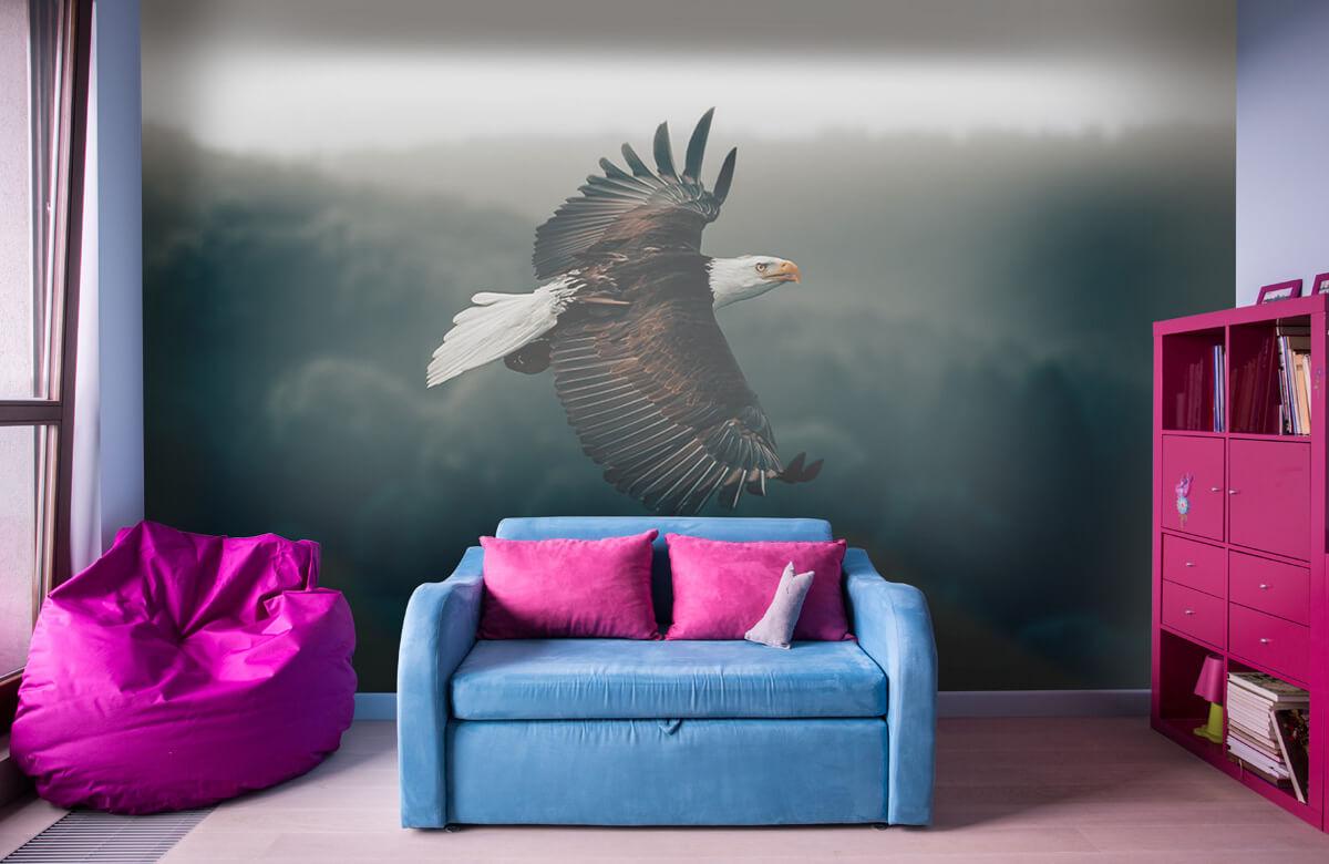 wallpaper Vliegende adelaar 11