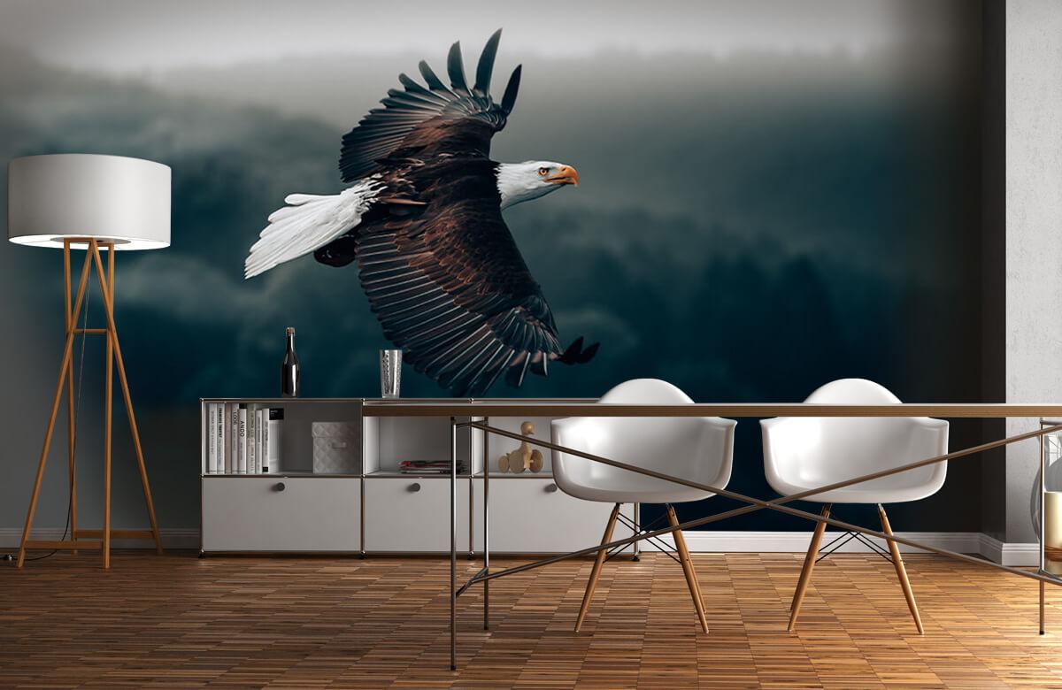 wallpaper Vliegende adelaar 1