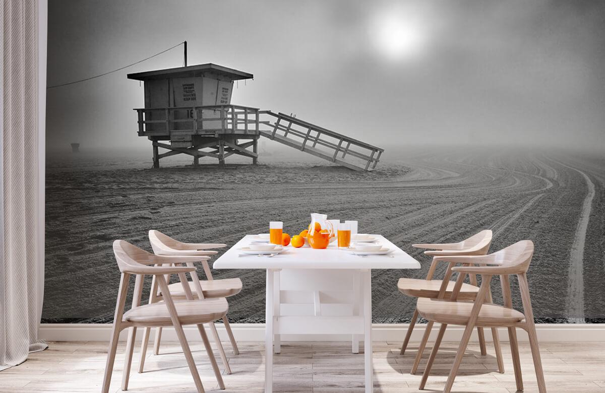 Fog on the beach 3