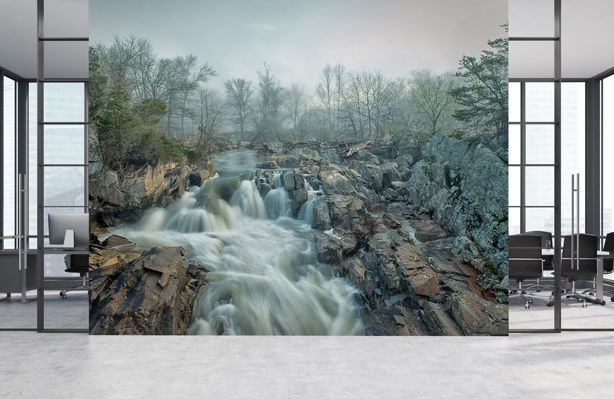 Dawn at Middle Falls 8
