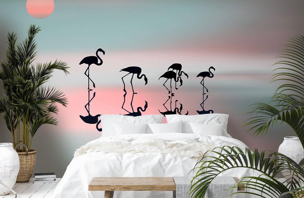 Family flamingos 2