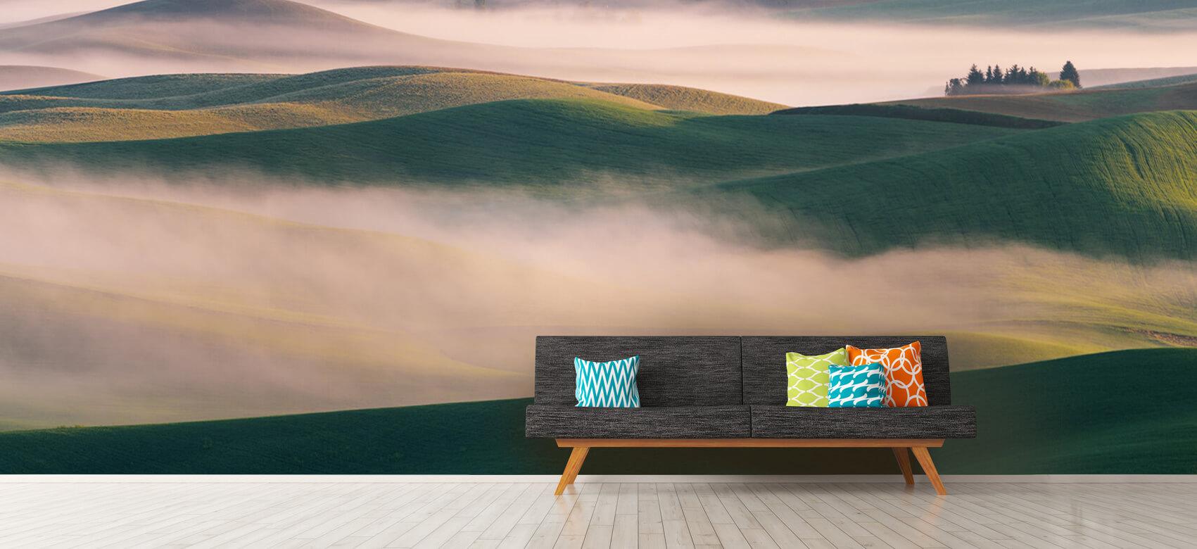 Dream Land in Morning Mist 12