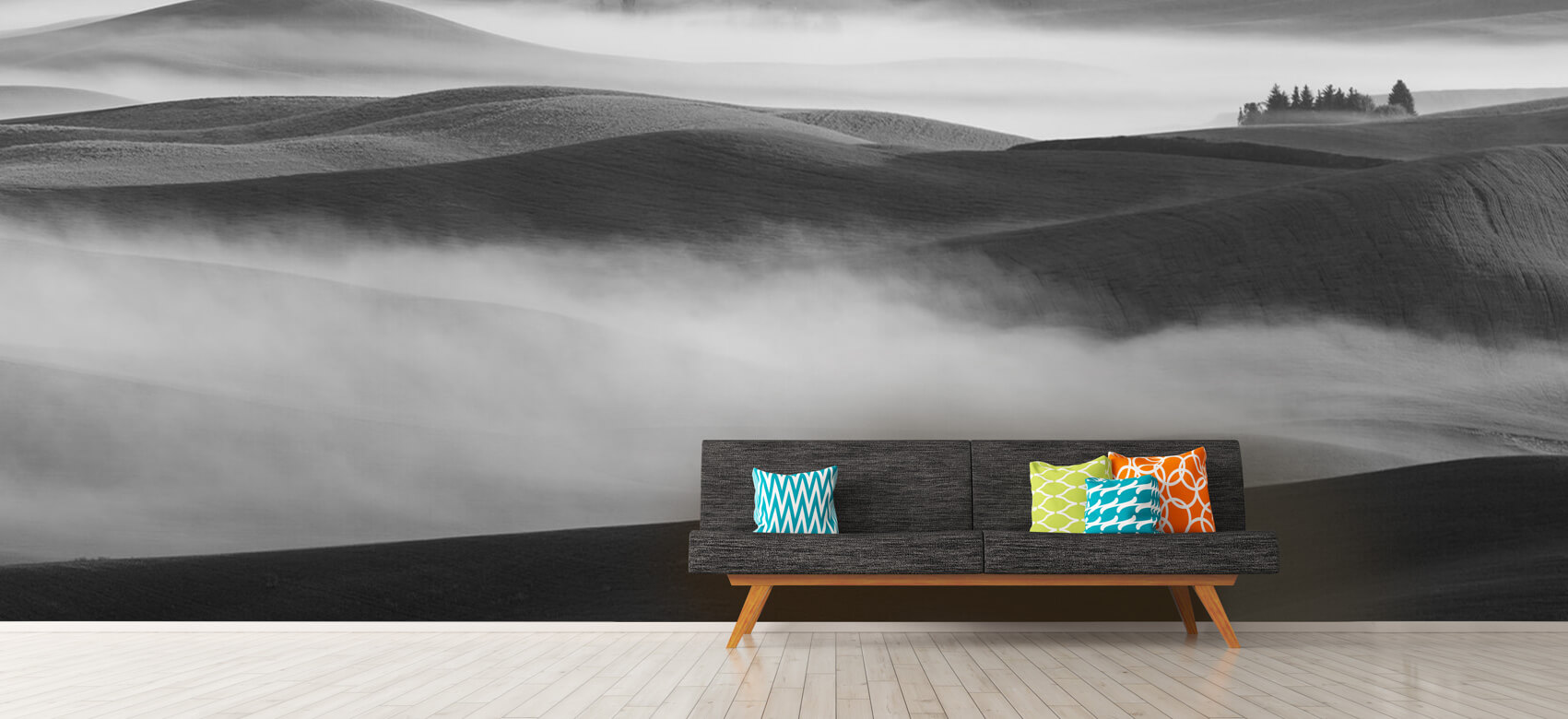 Dream Land in Morning Mist 13