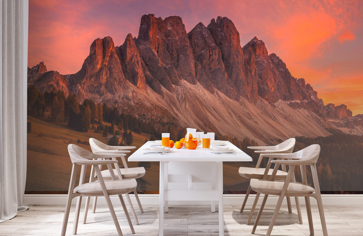 Cabins In The Dolomites 1