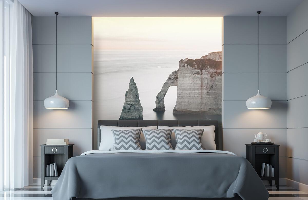 wallpaper Ochtend zon aan de kust 10